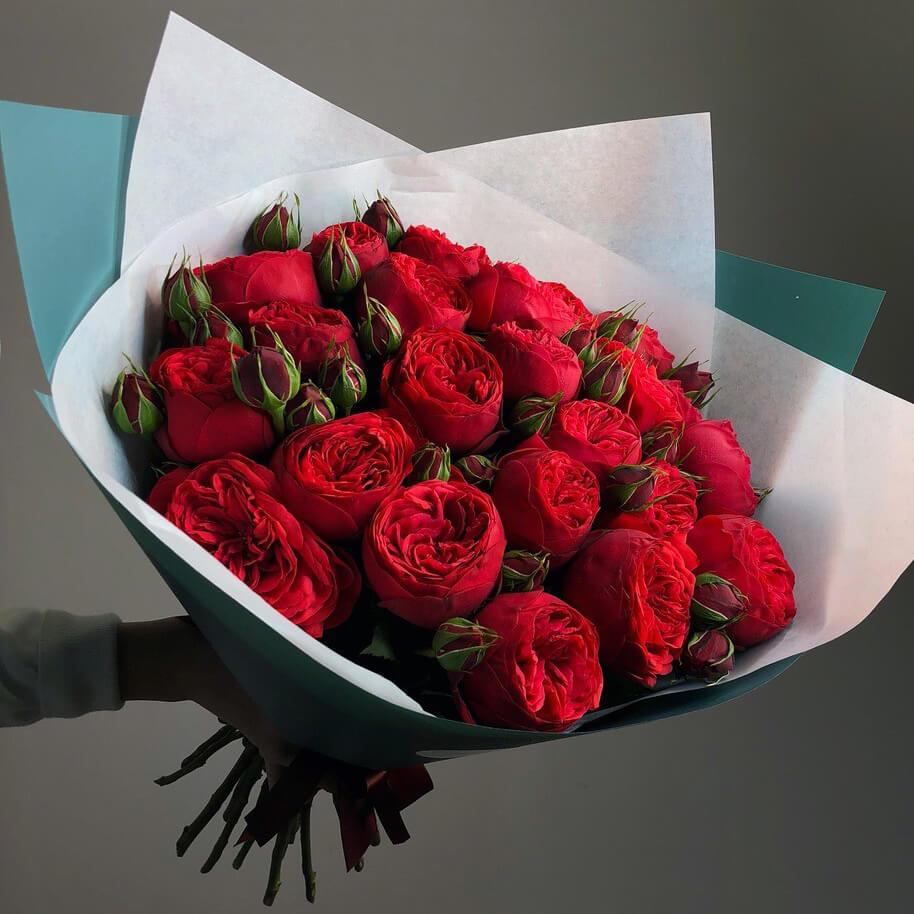 Букет 23 «Ред Пиано» Tiffany