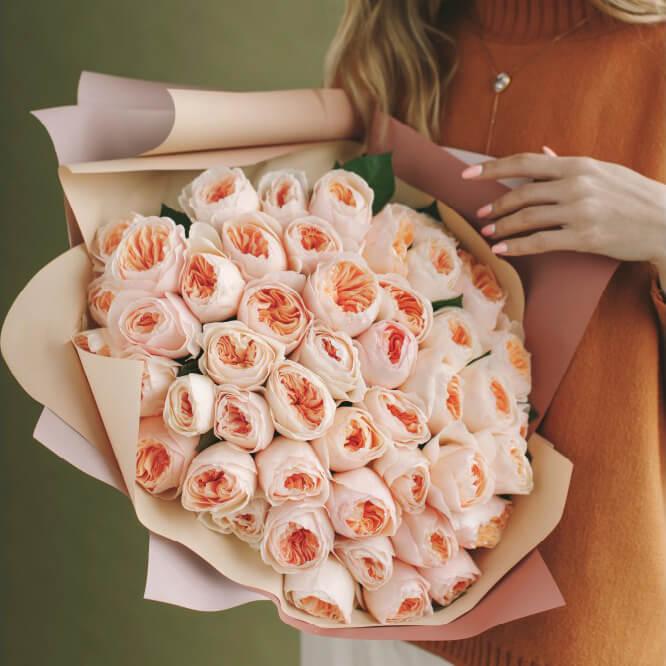 Букет 35 «Джульетта» Pink