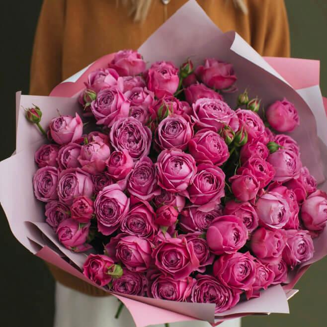 Букет 29 «Мисти Бабблз» Pink