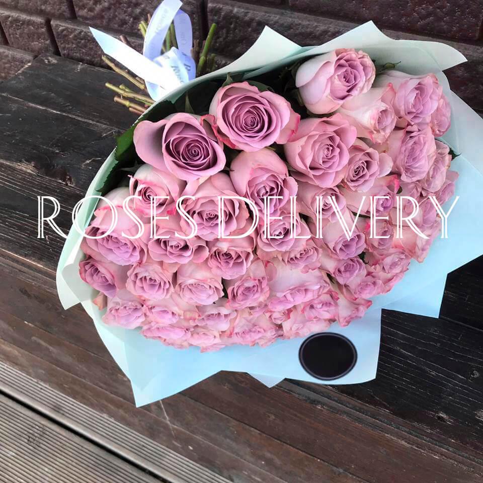 Букет 51 «Фиолетовая Роза» Blue