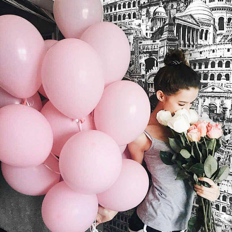 Розовые шары «Дарлин»