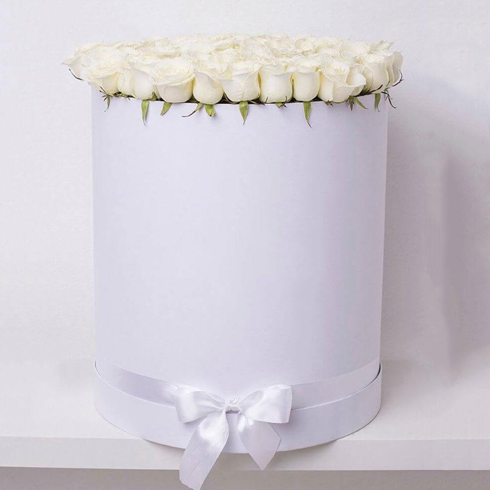 Коробка 51 «Белая Роза» White