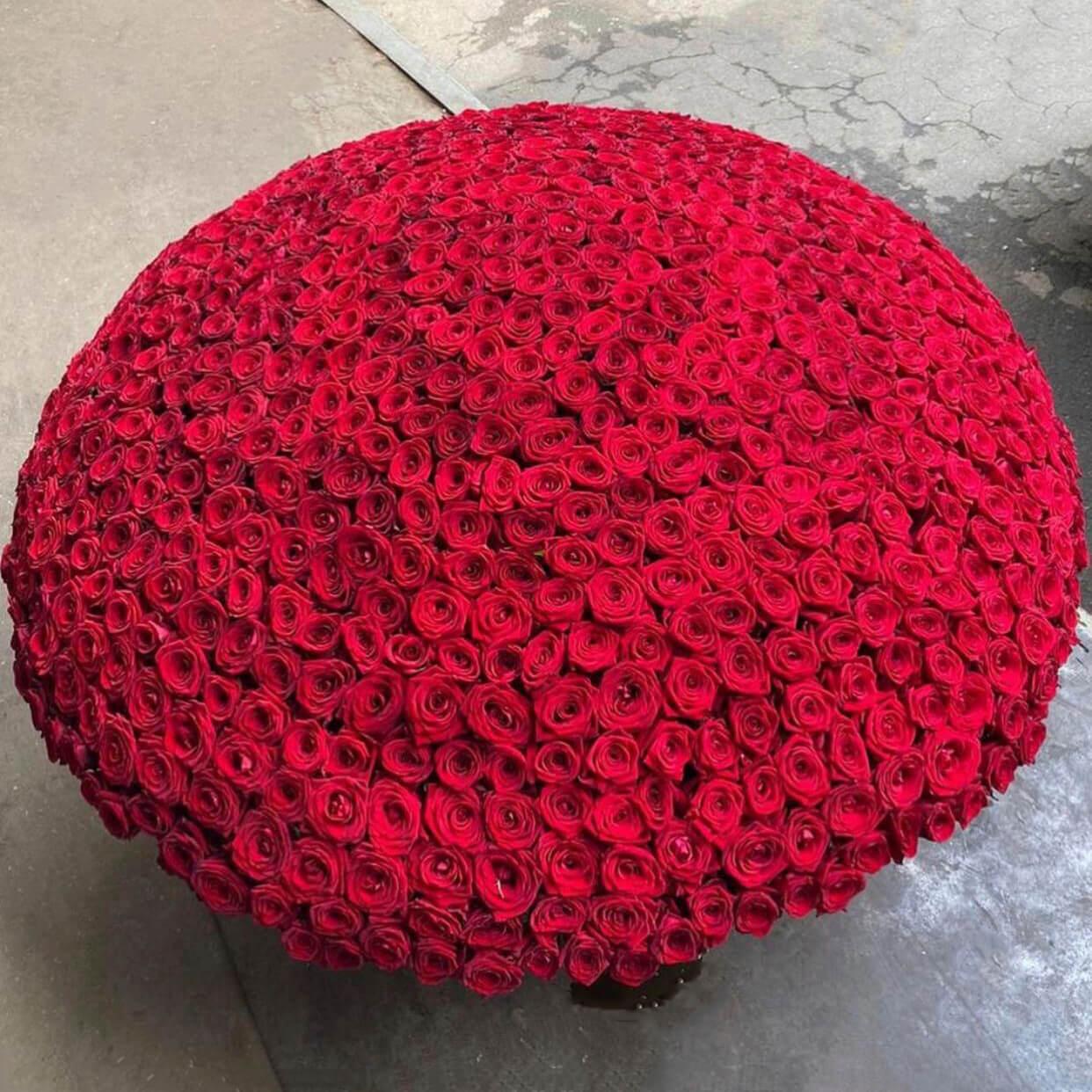 Корзина 1001 «Красная Роза»