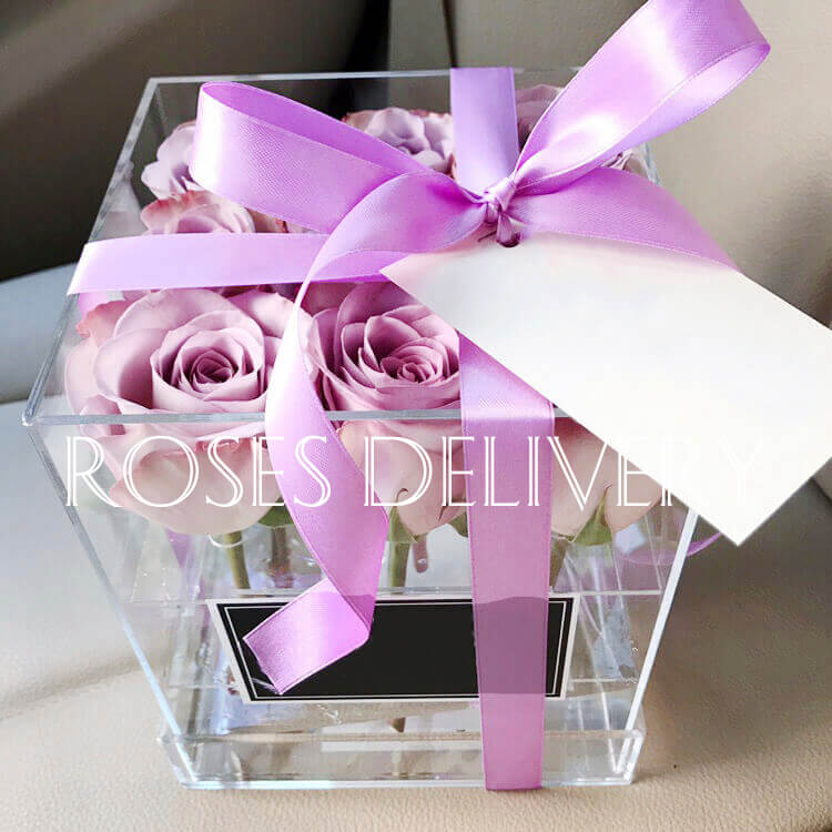 Бокс 9 «Фиолетовых Роз»