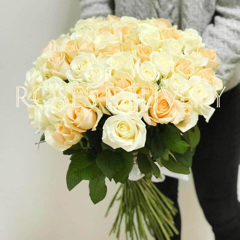 Букет 51 «Микс Роза»
