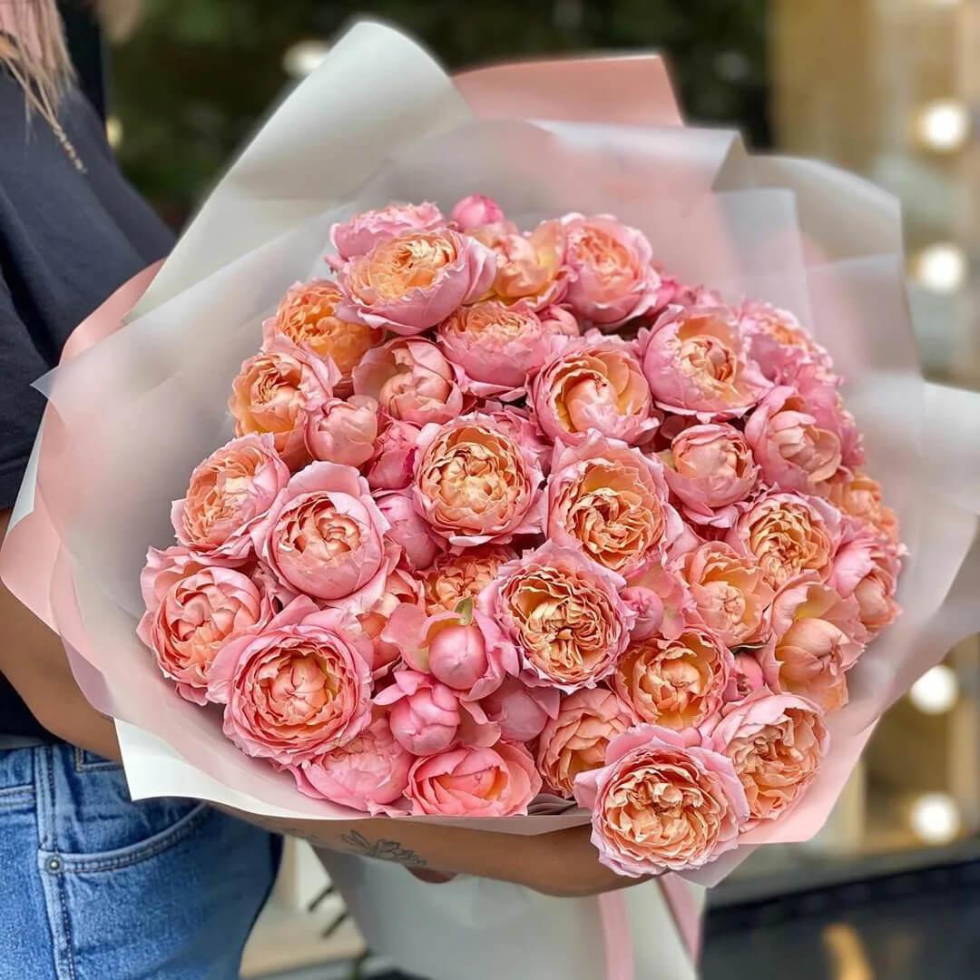 Джульетта кустовая роза